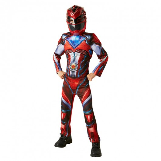 Power Ranger rood deluxe kostuum kind
