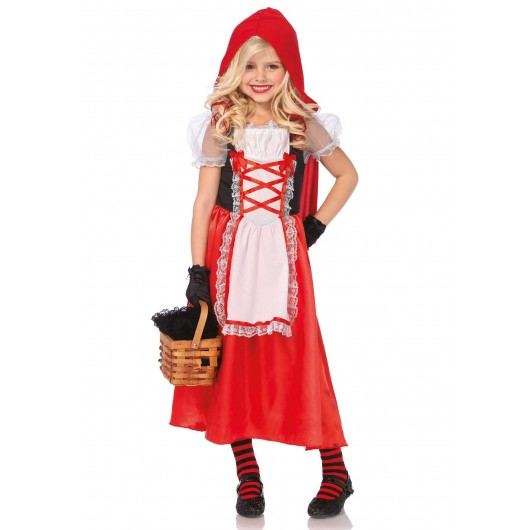 Kids Red Riding Hood Kostuum Kind