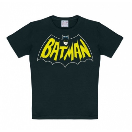 Batman retro logo kinder shirt