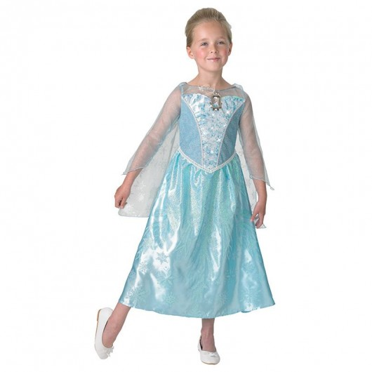 Frozen jurk Elsa light up kind