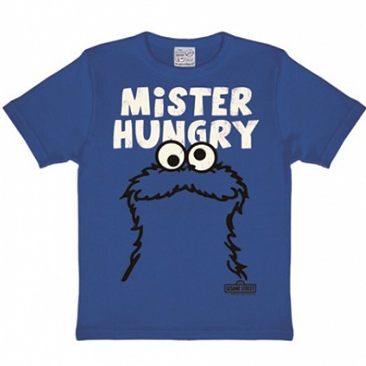 Sesamstraat Koekiemonster Hungry kinder shirt