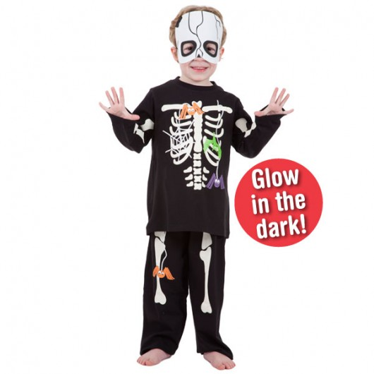Playama kinder pyjama Skelet