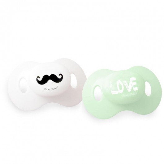Mustache love speen set