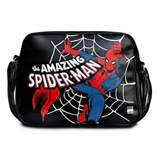 Spiderman Logoshirt schoudertas kind
