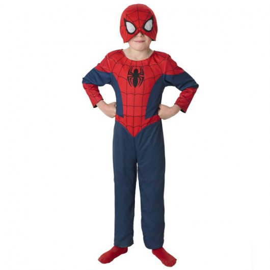 Spiderman Ultimate dubbel kostuum kind