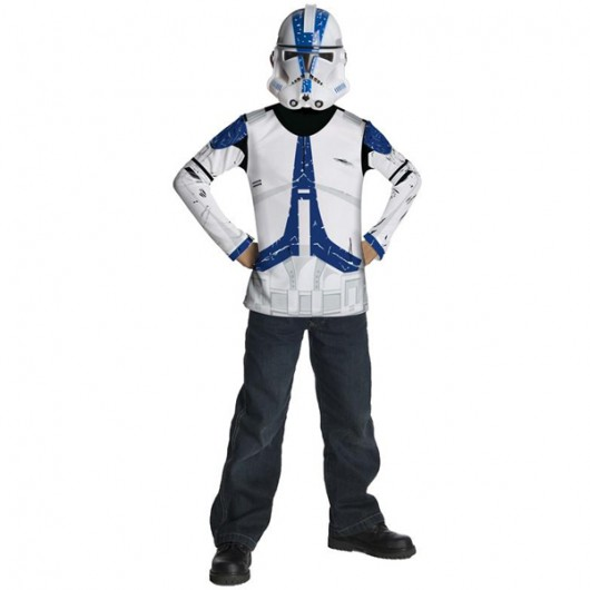Star Wars Blue Clone Trooper dress up kostuum kind