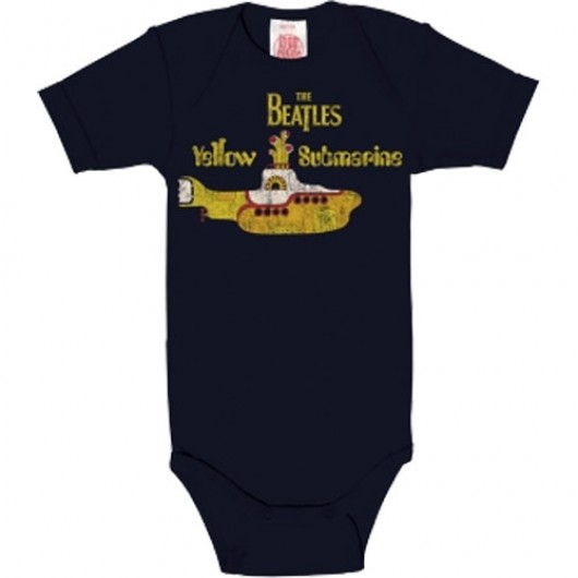 The Beatles Yellow Submarine Logoshirt baby romper