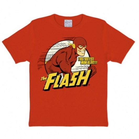 The Flash DC Comics Logoshirt kinder t-shirt rood