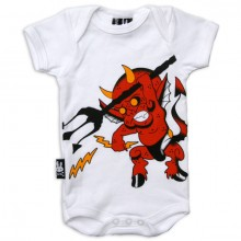 Lil devil Six Bunnies romper