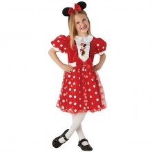 Minnie Mouse glossy kostuum kind