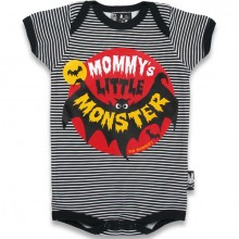 Little monster Six Bunnies romper
