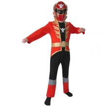 Power Ranger Super Megaforce rood kostuum kind