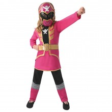 Power Ranger Super Megaforce roze kostuum kind