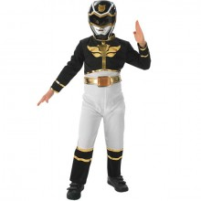 Power Ranger Megaforce zwart kostuum kind