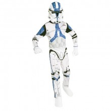Star Wars Blue Clone Trooper box set kostuum kind